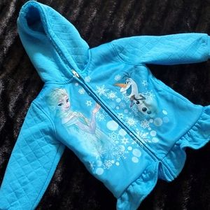 DISNEY FROZEN FLEECE JACKET